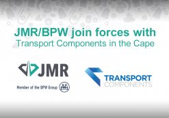 JMR/BPW join forces with Transport Components in the Cape.